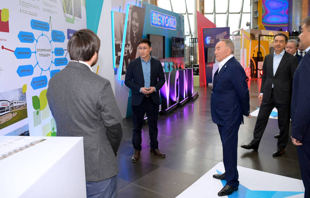 Kusto Group presents stand-out agricultural projects at Year of Youth ceremony