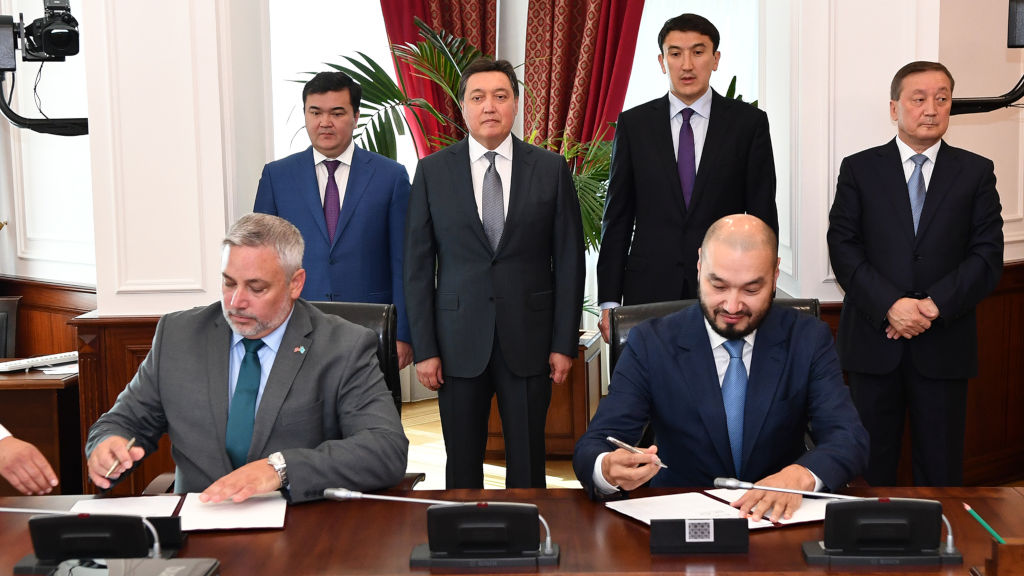Kusto-Valmont deal a major step forward for Kazakhstan's agricultural sector